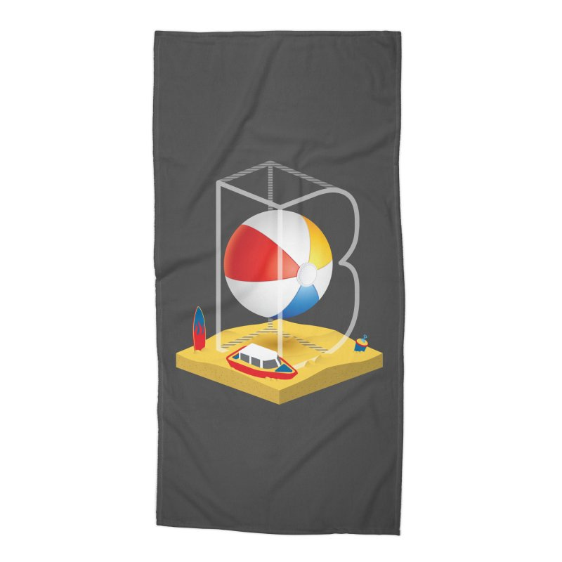 B is for,,, Accessories Beach Towel by Rocket Artist Shop