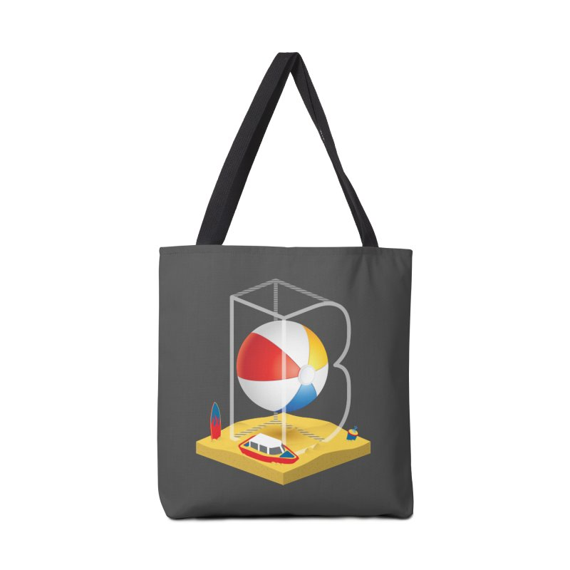 B is for,,, Accessories Bag by Rocket Artist Shop