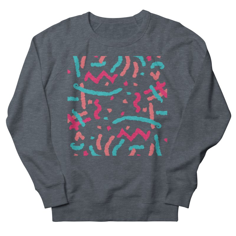 Brushed Dream Women's French Terry Sweatshirt by Rocket Artist Shop