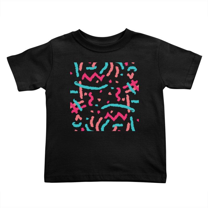 Brushed Dream Kids Toddler T-Shirt by Rocket Artist Shop