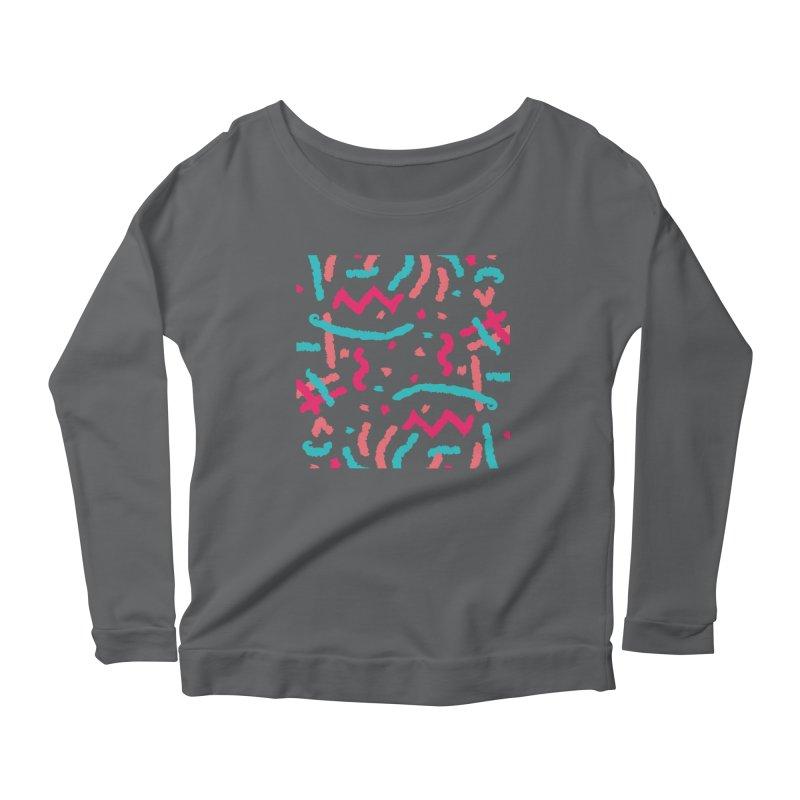 Brushed Dream Women's Scoop Neck Longsleeve T-Shirt by Rocket Artist Shop