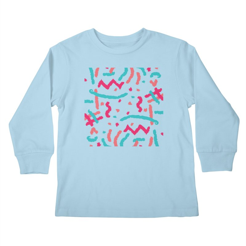 Brushed Dream Kids Longsleeve T-Shirt by Rocket Artist Shop