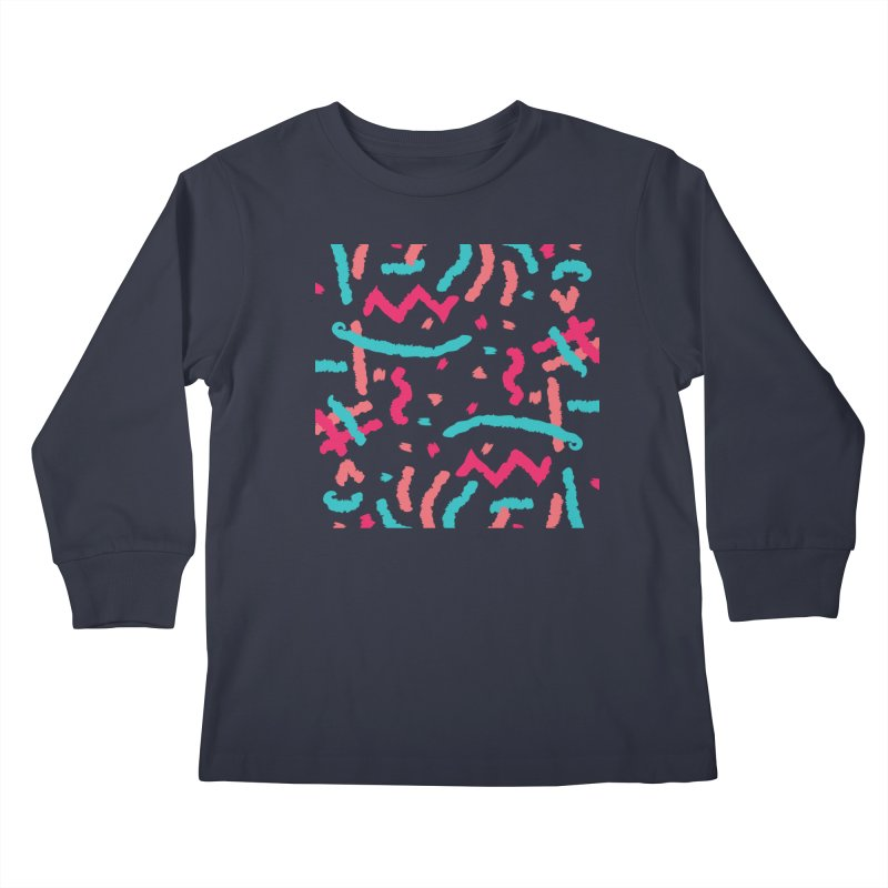 Brushed Dream Kids Longsleeve T-Shirt by Rocket Artist Shop