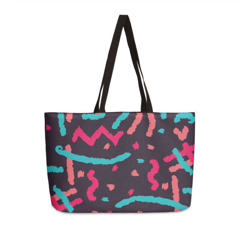 Brushed Dream Accessories Weekender Bag Bag by Rocket Artist Shop