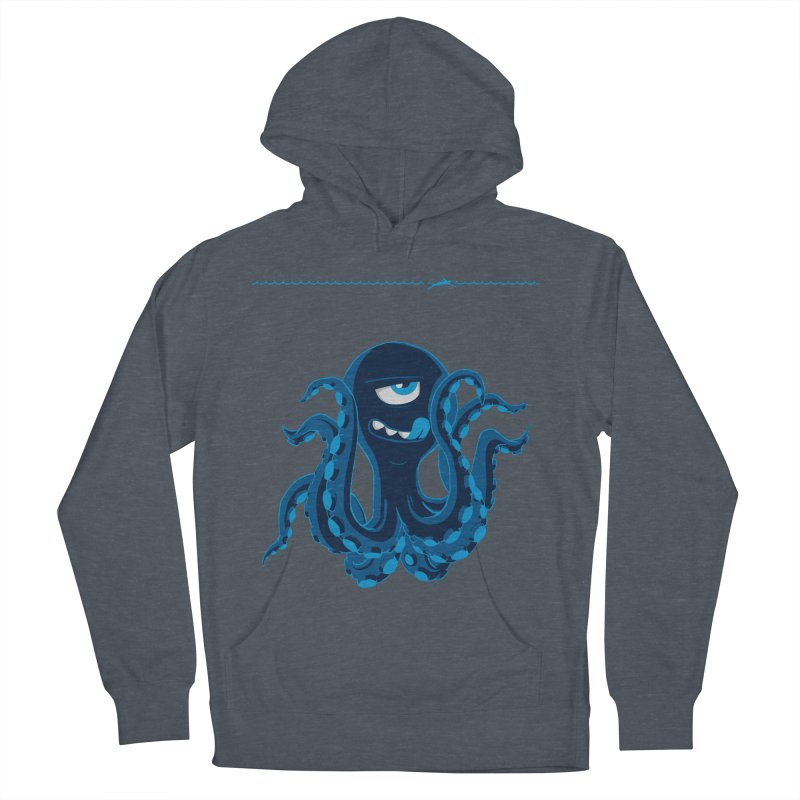 DEEP BLUE Men's Pullover Hoody by Rocket Artist Shop