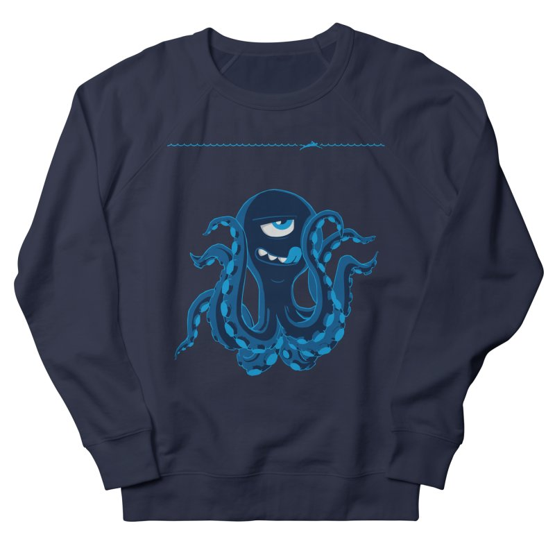 DEEP BLUE Women's Sweatshirt by Rocket Artist Shop