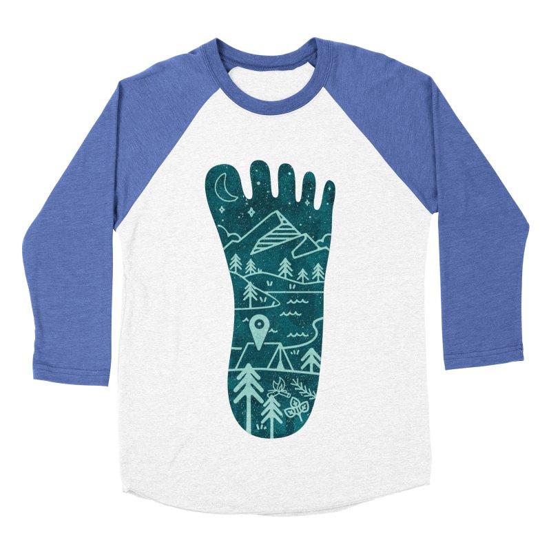 Keep Walking Women's Baseball Triblend T-Shirt by Rocket Artist Shop