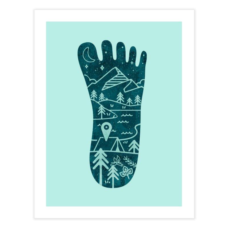 Keep Walking Home Fine Art Print by Rocket Artist Shop