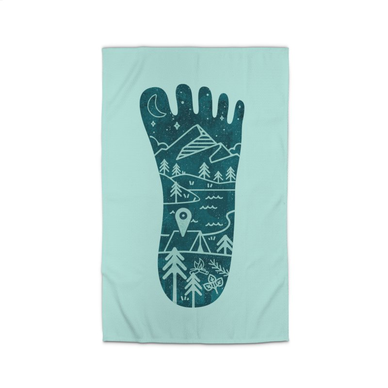 Keep Walking Home Rug by Rocket Artist Shop