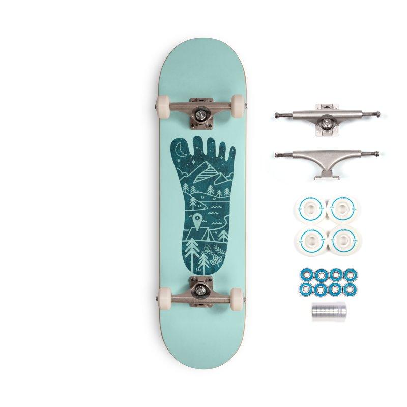 Keep Walking Accessories Complete - Basic Skateboard by Rocket Artist Shop
