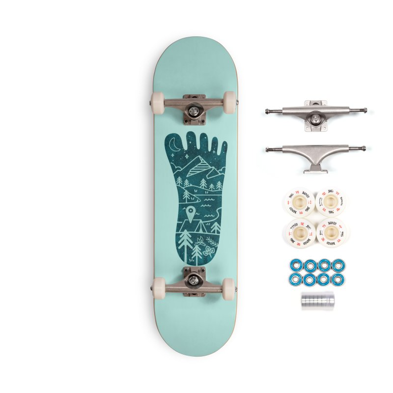 Keep Walking Accessories Complete - Premium Skateboard by Rocket Artist Shop