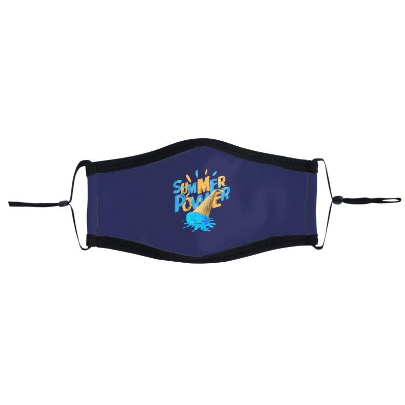 Summer Power Accessories Face Mask by Rocket Artist Shop