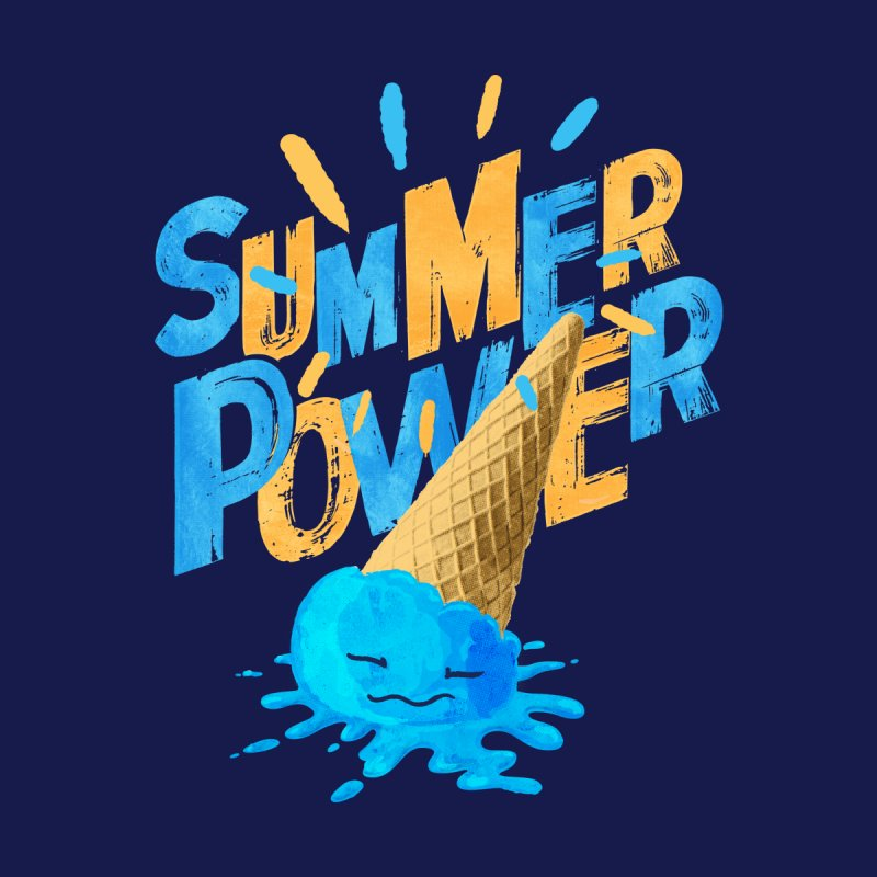 Summer Power Men's T-Shirt by Rocket Artist Shop