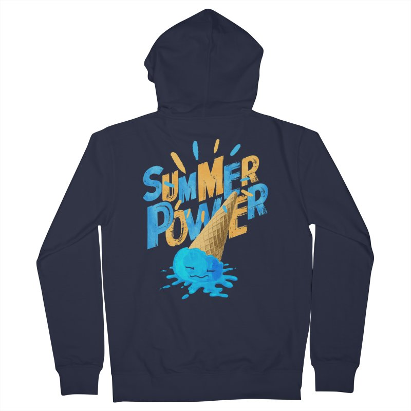 Summer Power Women's Zip-Up Hoody by Rocket Artist Shop