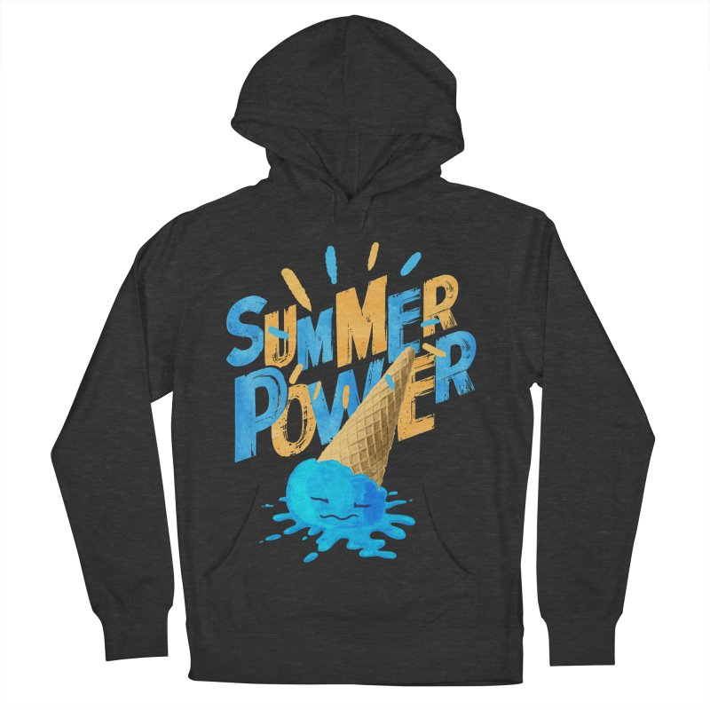 Summer Power Women's French Terry Pullover Hoody by Rocket Artist Shop