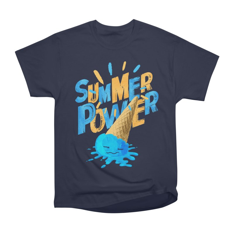 Summer Power Women's Heavyweight Unisex T-Shirt by Rocket Artist Shop