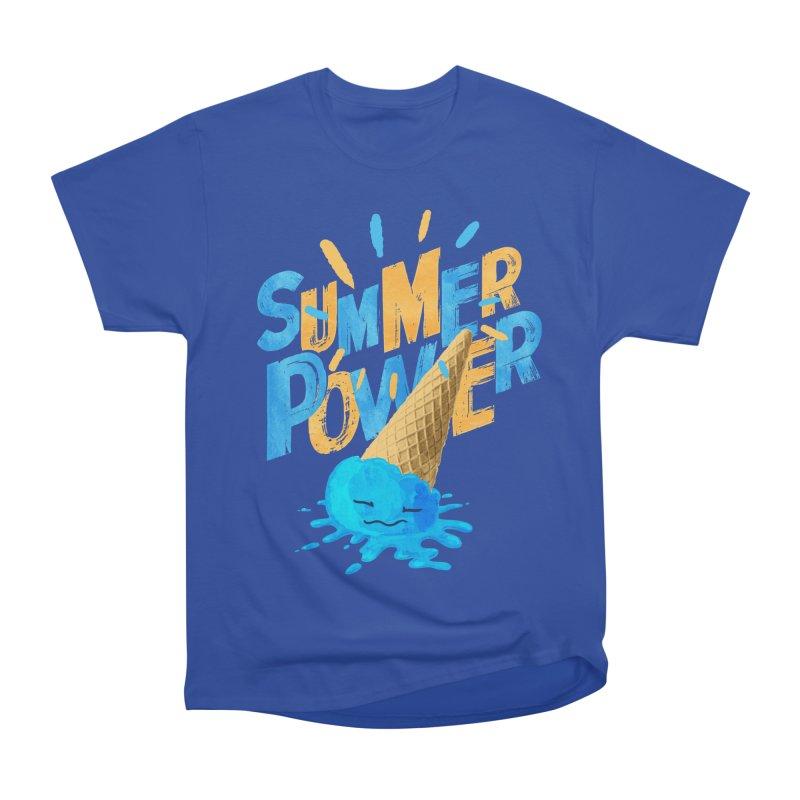 Summer Power Men's Heavyweight T-Shirt by Rocket Artist Shop