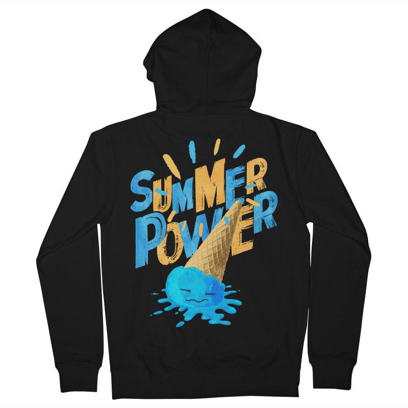 Summer Power Women's Zip-Up Hoody by Rocket Artist Shop