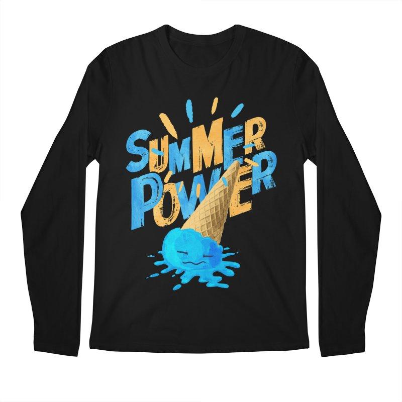 Summer Power Men's Regular Longsleeve T-Shirt by Rocket Artist Shop