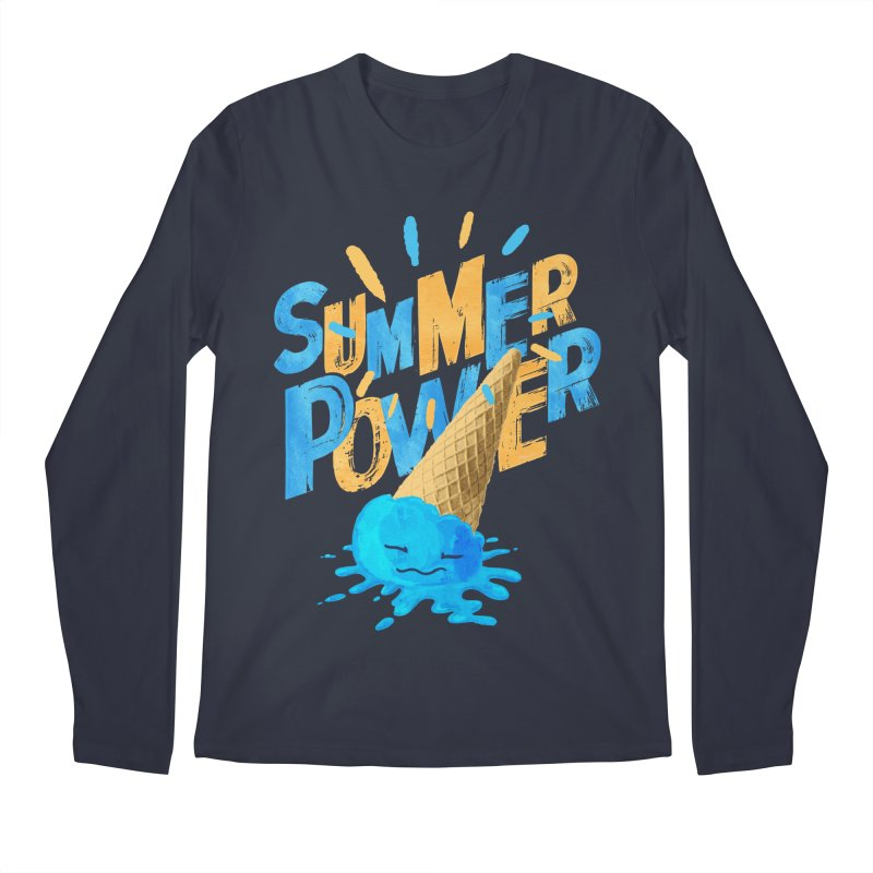 Summer Power Men's Longsleeve T-Shirt by Rocket Artist Shop