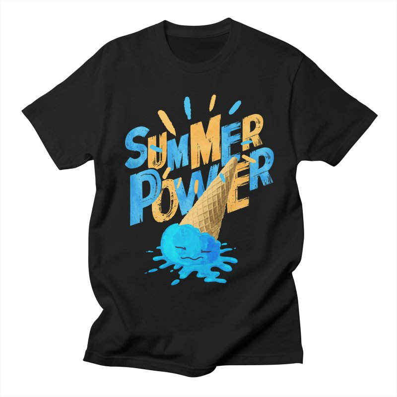 Summer Power Men's Regular T-Shirt by Rocket Artist Shop
