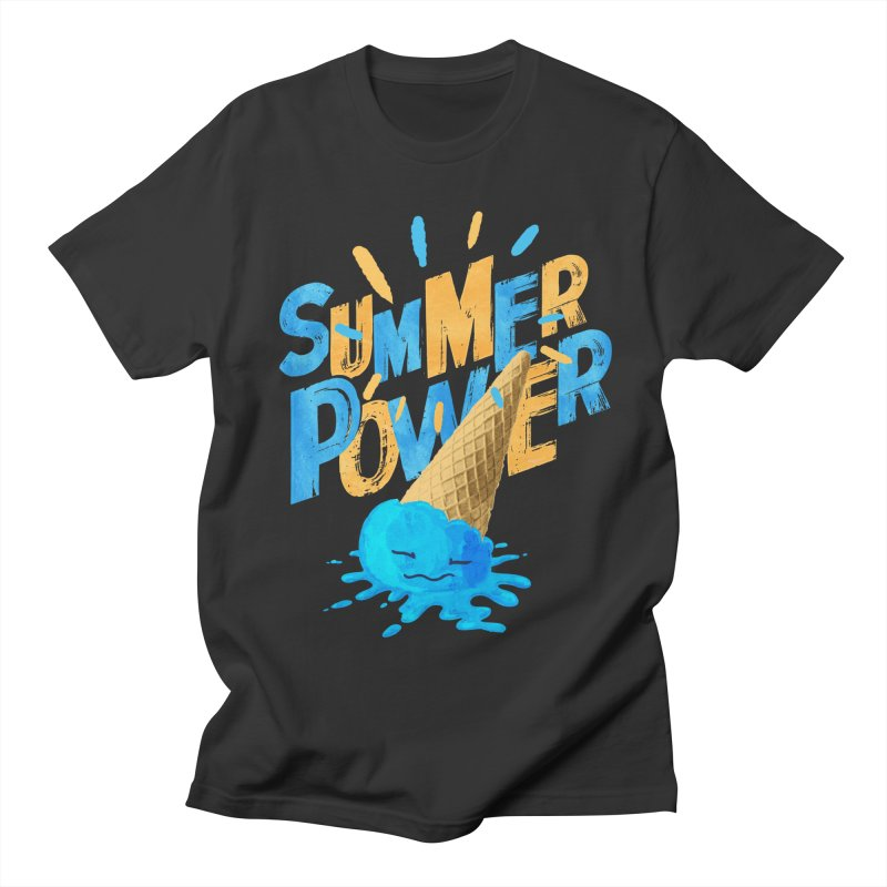 Summer Power Men's Regular T-Shirt by Rocket Artist Shop