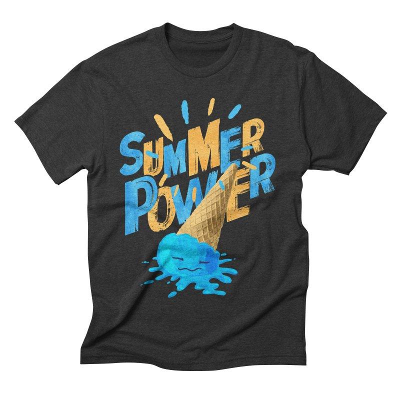 Summer Power Men's Triblend T-Shirt by Rocket Artist Shop