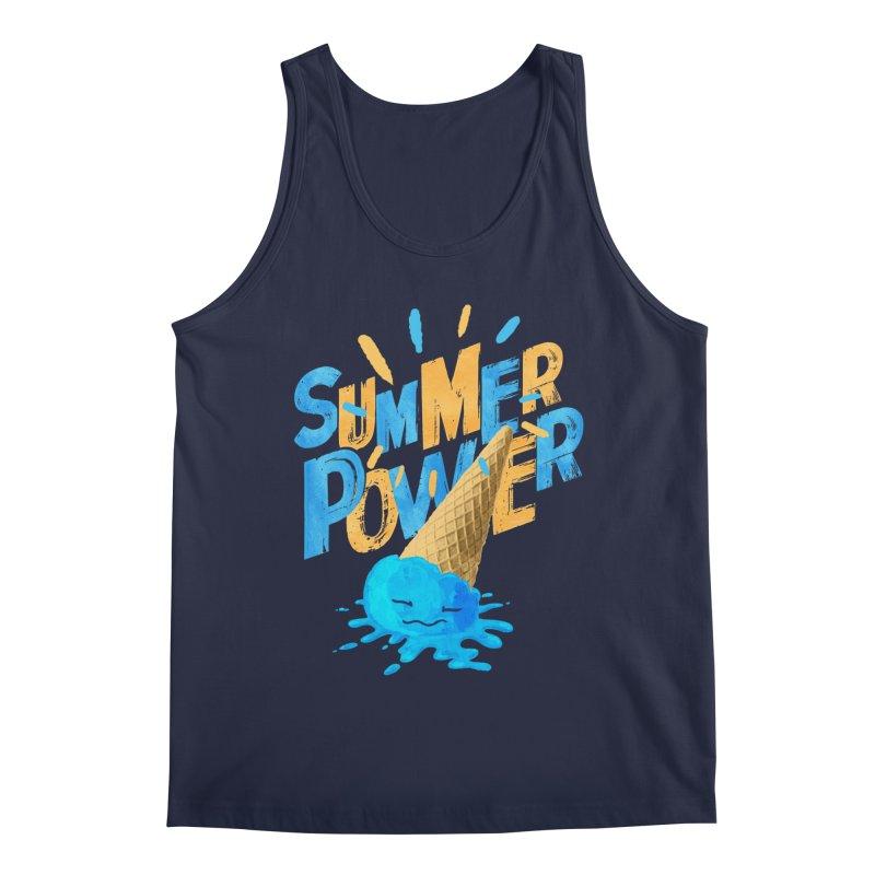 Summer Power Men's Tank by Rocket Artist Shop