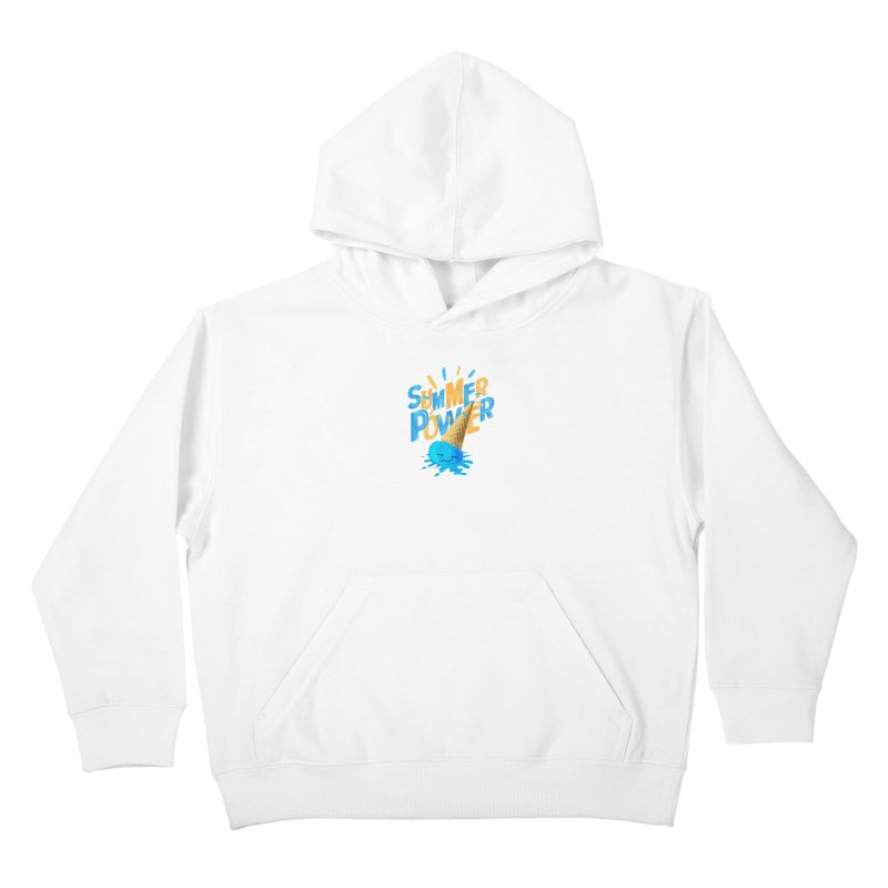 Summer Power Kids Pullover Hoody by Rocket Artist Shop