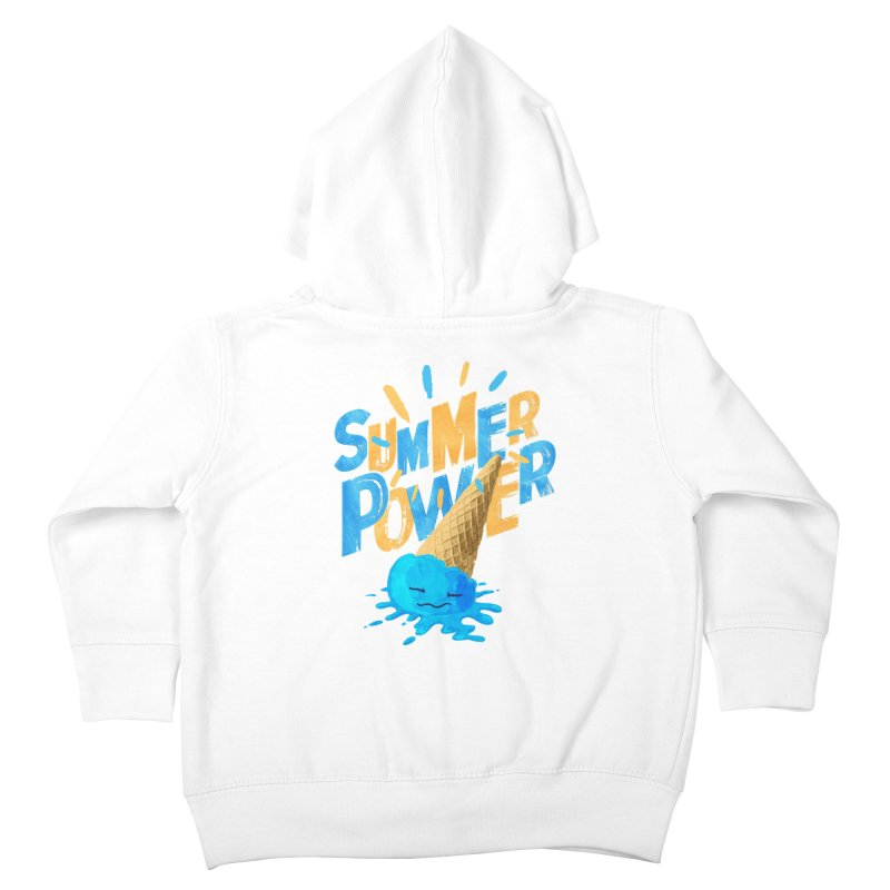 Summer Power Kids Toddler Zip-Up Hoody by Rocket Artist Shop