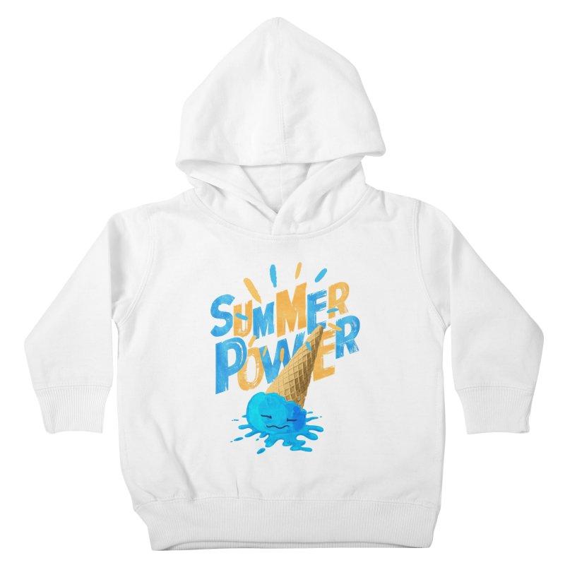 Summer Power Kids Toddler Pullover Hoody by Rocket Artist Shop
