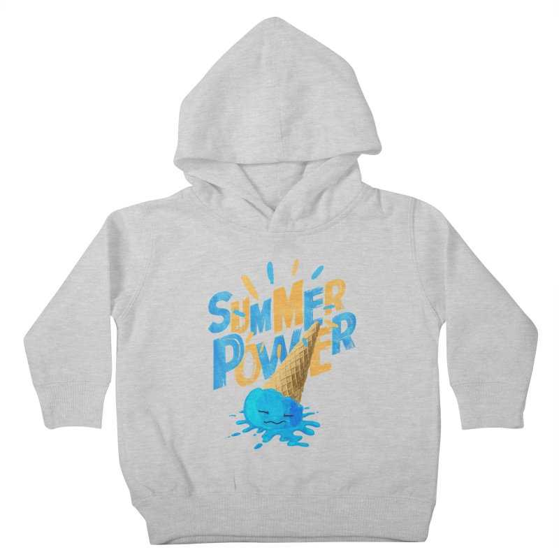 Summer Power Kids Toddler Pullover Hoody by Rocket Artist Shop