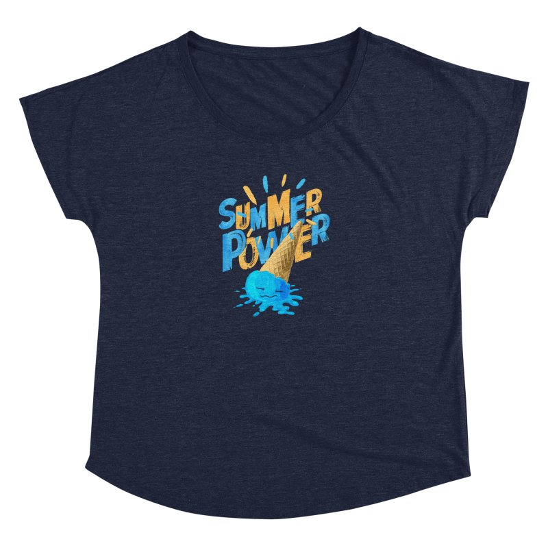 Summer Power Women's Scoop Neck by Rocket Artist Shop