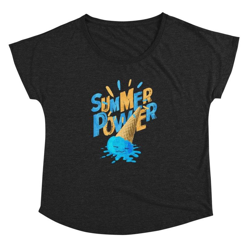 Summer Power Women's Dolman by Rocket Artist Shop