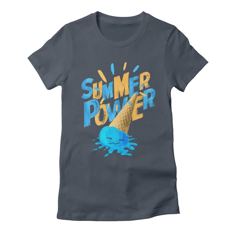 Summer Power Women's T-Shirt by Rocket Artist Shop