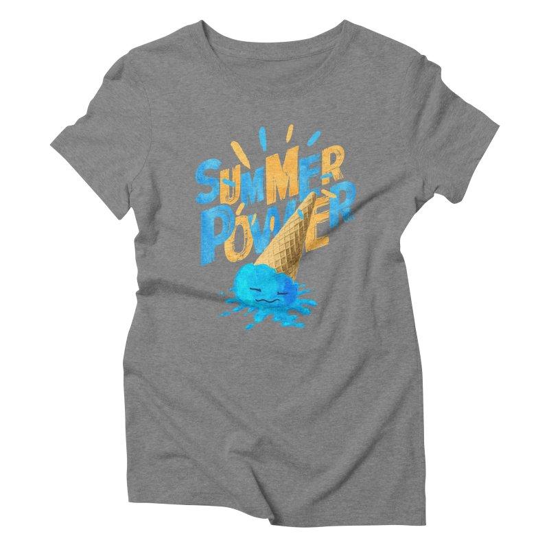 Summer Power Women's Triblend T-Shirt by Rocket Artist Shop