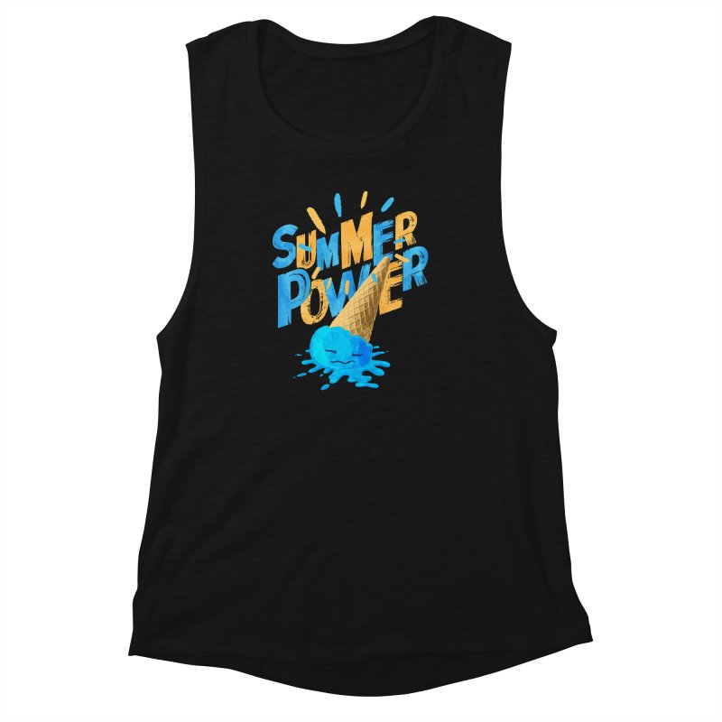 Summer Power Women's Muscle Tank by Rocket Artist Shop