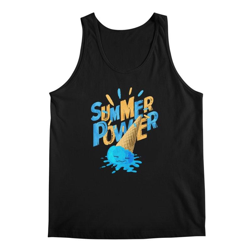 Summer Power Men's Regular Tank by Rocket Artist Shop
