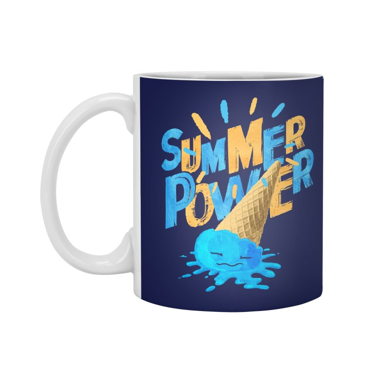 Summer Power Accessories Standard Mug by Rocket Artist Shop