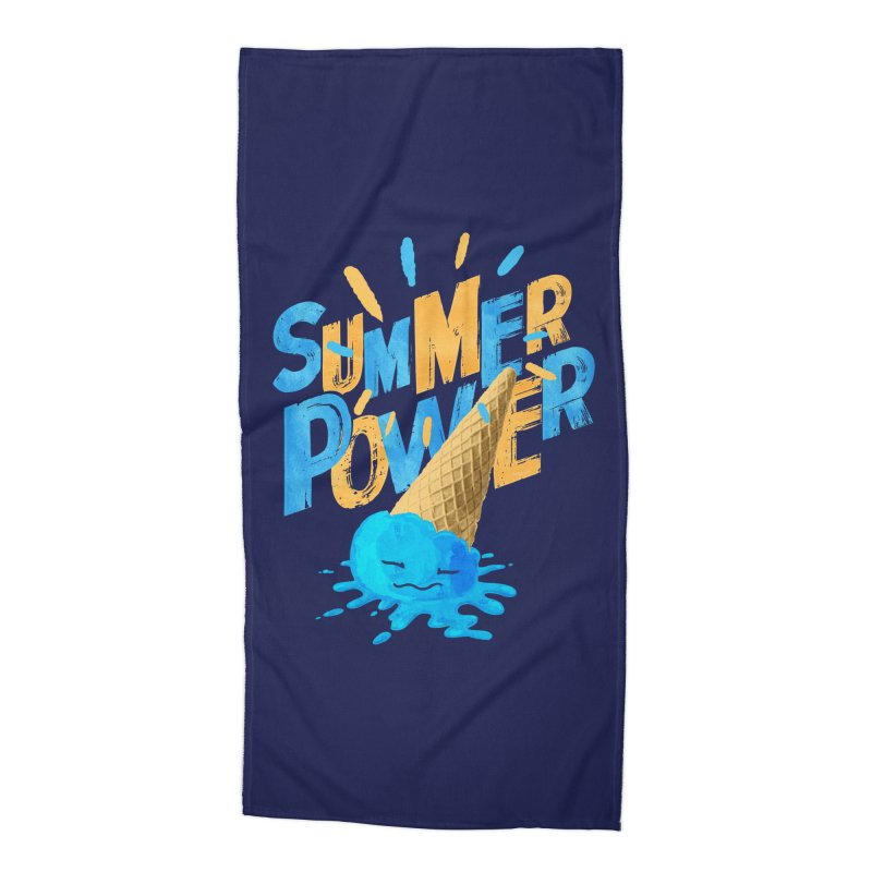 Summer Power Accessories Beach Towel by Rocket Artist Shop