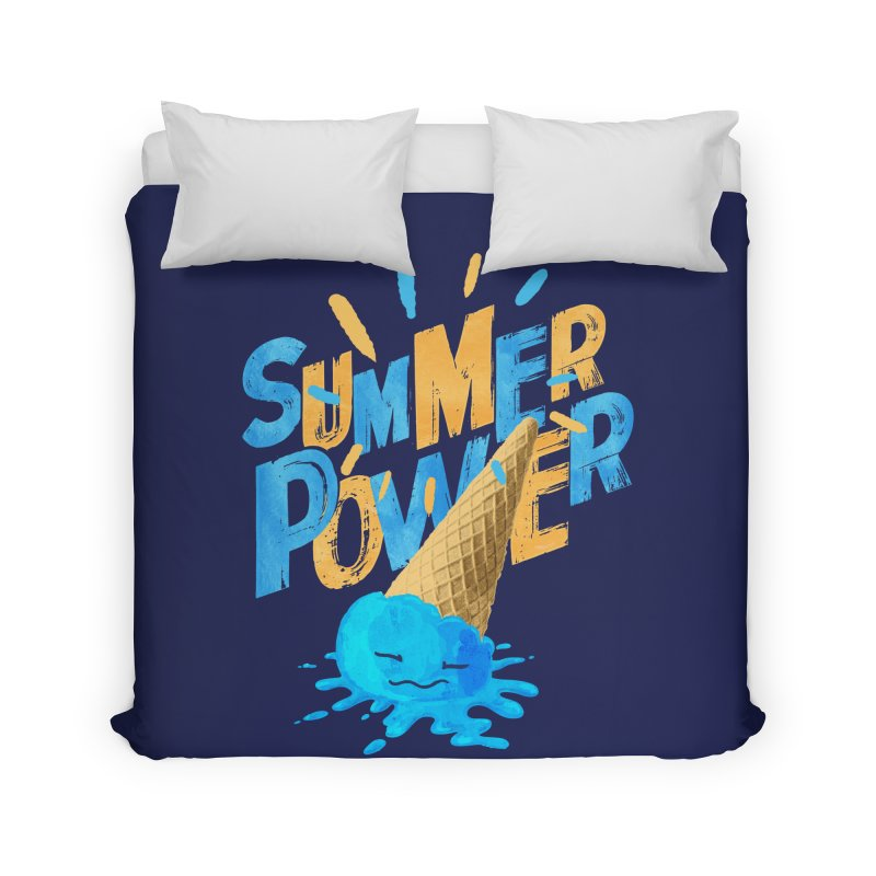 Summer Power Home Duvet by Rocket Artist Shop