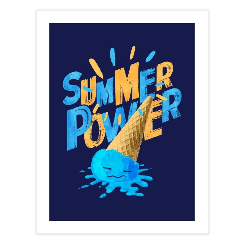 Summer Power Home Fine Art Print by Rocket Artist Shop