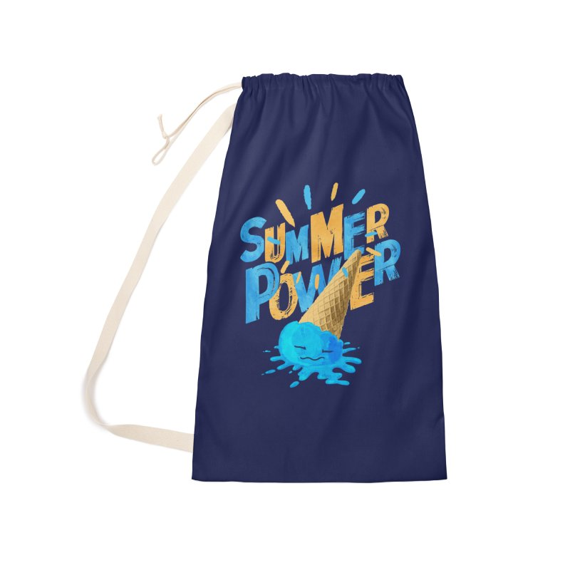 Summer Power Accessories Laundry Bag Bag by Rocket Artist Shop
