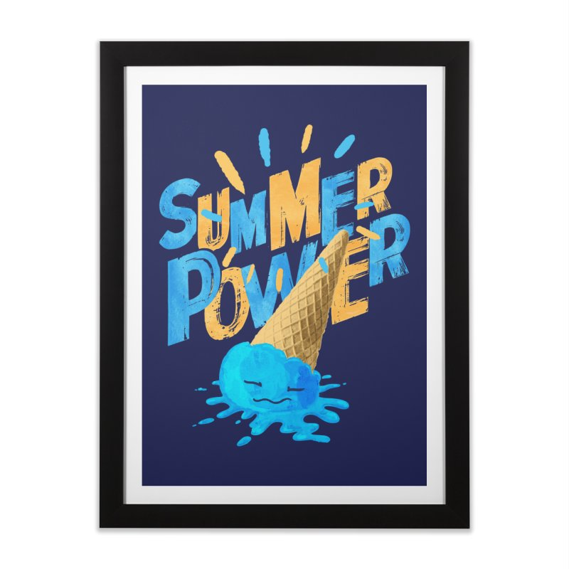 Summer Power Home Framed Fine Art Print by Rocket Artist Shop