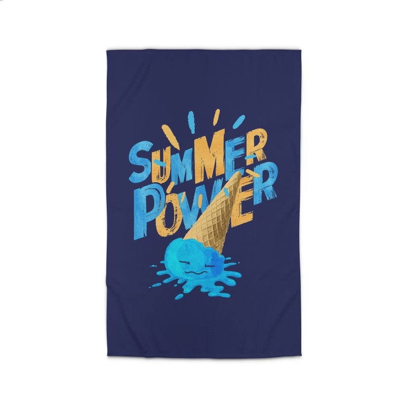 Summer Power Home Rug by Rocket Artist Shop