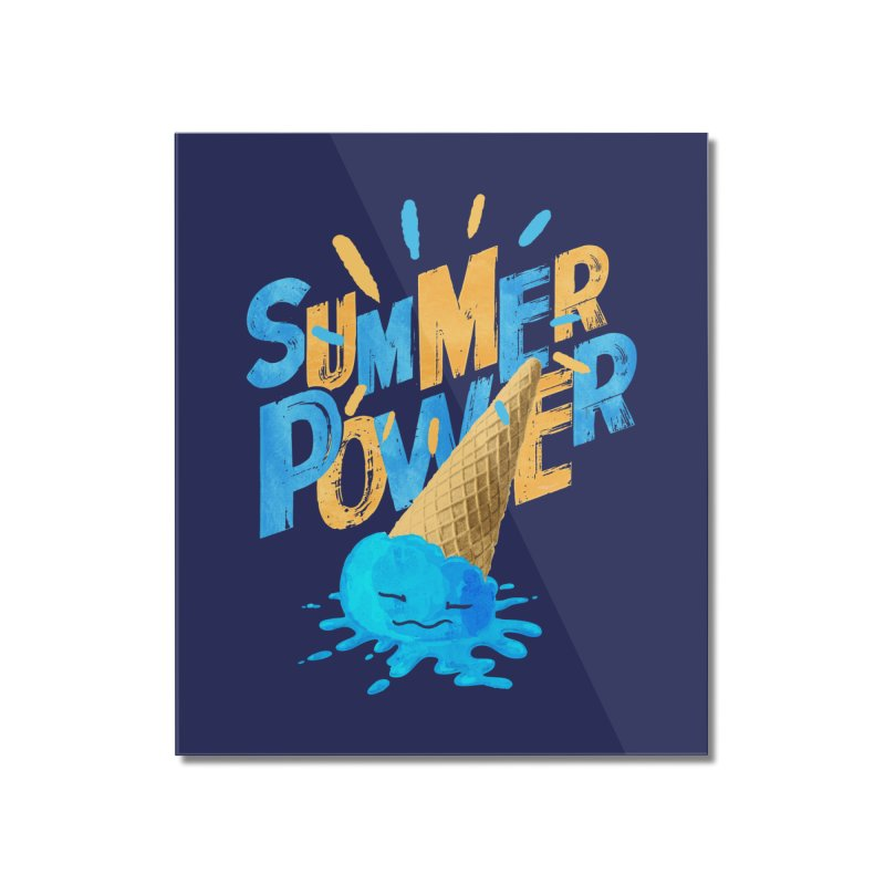 Summer Power Home Mounted Acrylic Print by Rocket Artist Shop