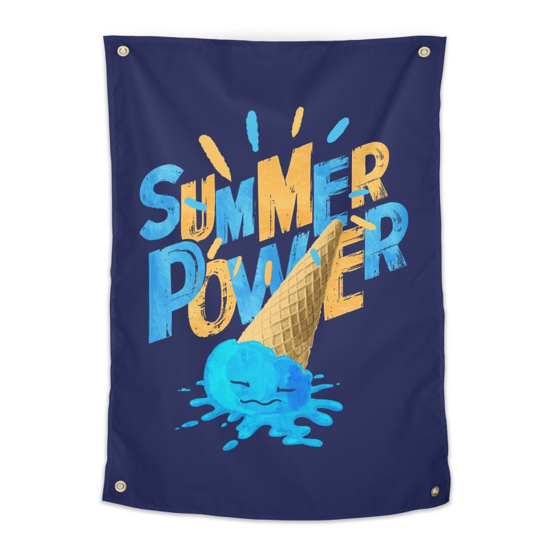 Summer Power Home Tapestry by Rocket Artist Shop
