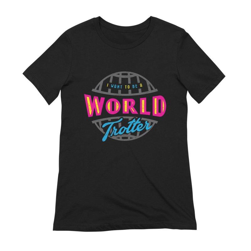 Go Travel Women's Extra Soft T-Shirt by Rocket Artist Shop