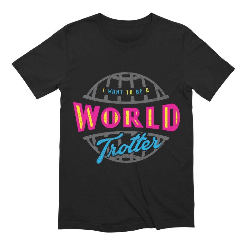Go Travel Men's Extra Soft T-Shirt by Rocket Artist Shop