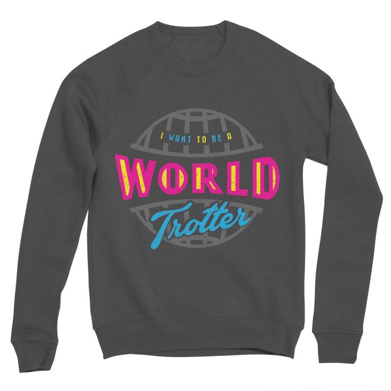 Go Travel Men's Sponge Fleece Sweatshirt by Rocket Artist Shop